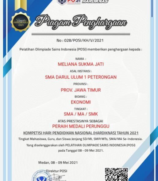 Meliana Sukma J. X IPS 3